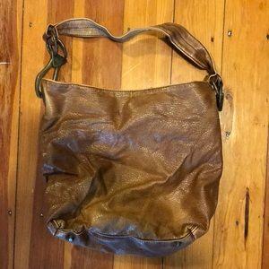 Braciano faux leather hobo